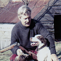 T.D. Donovan and his beloved dog Susie