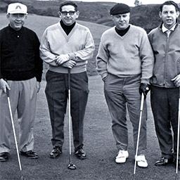 from left to right: Clarence Doser,  Buddy Eig,  Thurman D. Donovan, Jack Doser